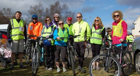 University of the Highlands and Islands Staff Black Isle Cycle Team