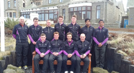University of the Highlands and Islands Student Golf Team